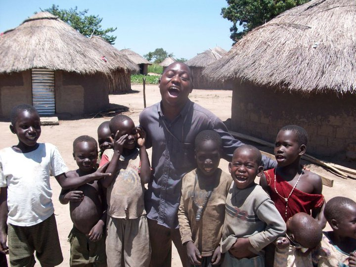 Making Fun With Kids In Northern Uganda